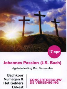 2019-04-17 flyer Johannes Passion